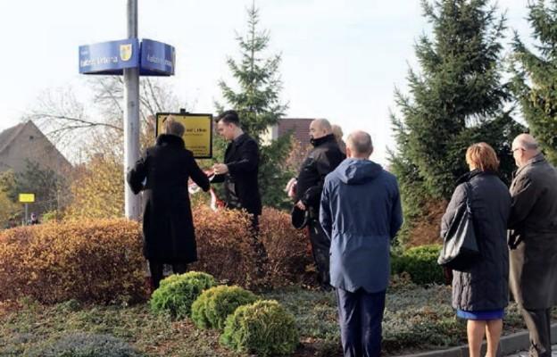 Ofiara zamachu w Berlinie patronem ronda