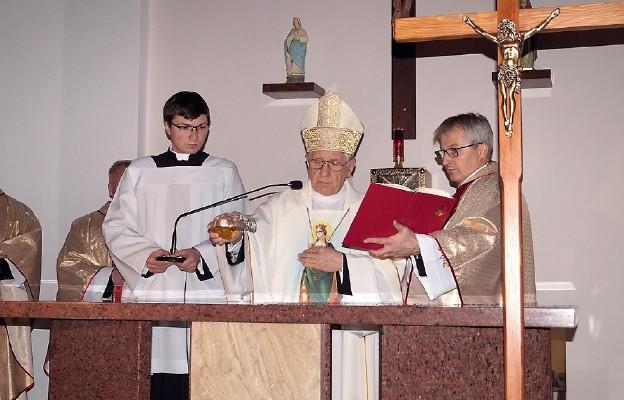Konsekracja kościoła pw. św. Barbary w Bielinku