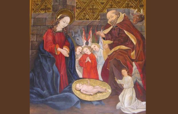 Boże Narodzenie z kościoła farnego w Jaśle