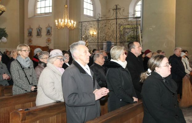 Msza św. w kościele św. Jadwigi Śląskiej w Krośnie Odrzańskim