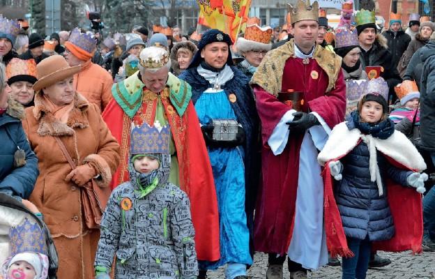 Orszaki Trzech Króli w diecezji legnickiej