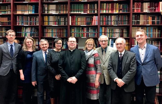 Uczestnicy spotkania duszpasterstwa prawników diecezji legnickiej