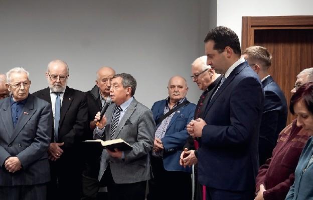 Spotkanie opłatkowe dla szczecińskich opozycjonistów