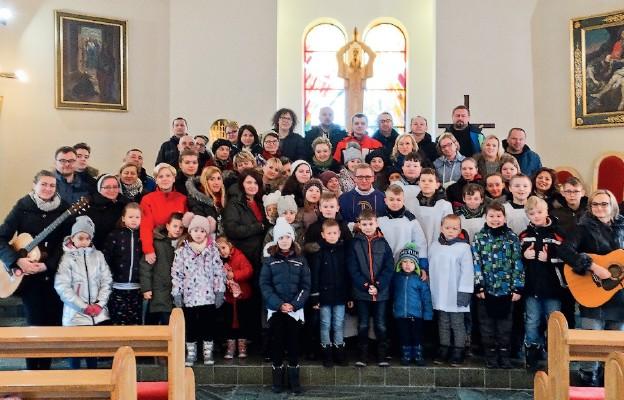 Rodziny w Bieszczadach, w Ośrodku Caritas w Zboiskach