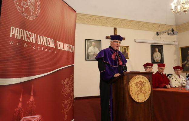 Ks. prof. dr hab. Jerzy Machnacz wygłosił wykład,,Dialog Edmunda Husserla z Tomaszem z Akwinu w ujęciu Edyty Stein