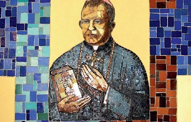 Mozaika w kościele parafialnym pw. Matki Bożej Pocieszenia w Gwizdowie