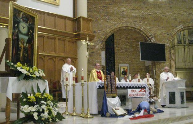Powitanie obrazu w parafii NMP Królowej Polski w Głogowie