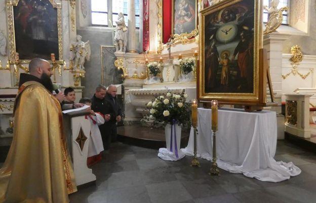 9-10 marca obraz nawiedził klasztor oo. franciszkanów we Wschowie