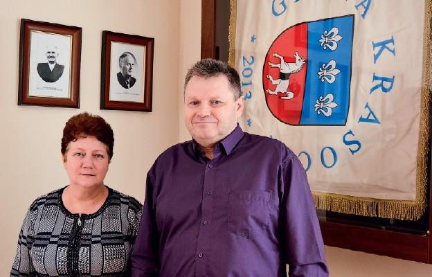 Helena i Aleksander Bagińscy – nowi mieszkańcy Krasocina
