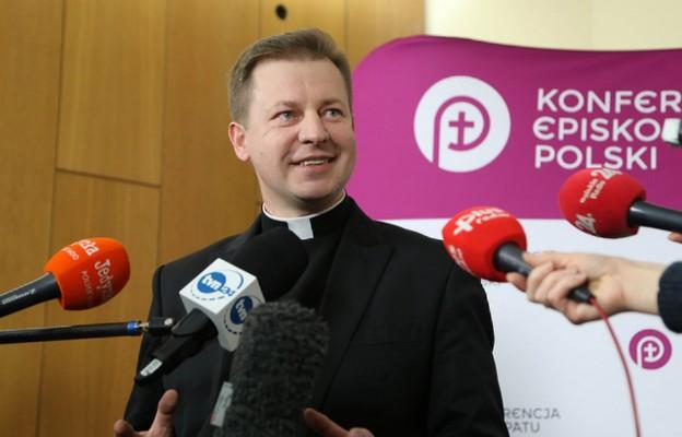 Ks. Paweł Rytel - Andrianik kończy pracę na stanowisku rzecznika Episkopatu Polski