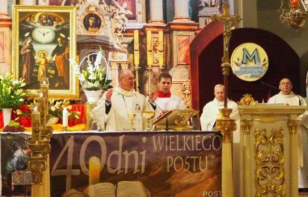 12 i 13 marca obraz nawiedził parafię Wniebowzięcia Najświętszej Maryi Panny w Szprotawie