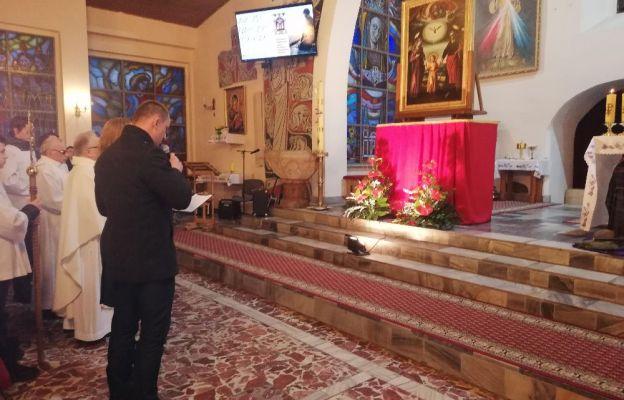 Powitanie obrazu św. Józefa Kaliskiego w kościele Wniebowzięcia NMP