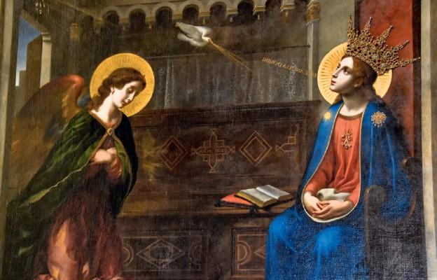 Zwiastowanie z zamojskiej katedry