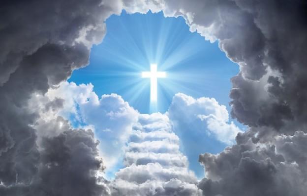 Drabina Jakuba jako krzyż