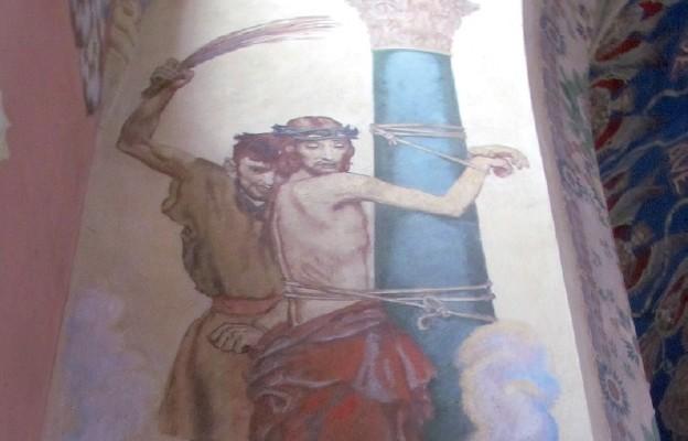 Kult Jezusa przy słupie biczowanego