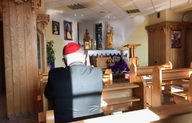 Relikwie św. Jana Pawła II w szpitalu w Nowym Targu