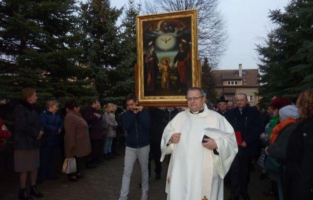 23 marca obraz przybył do parafii Ducha Świętego w Słubicach