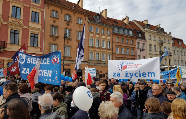 Relacja z Narodowego Marszu Życia w Warszawie 1553441746
