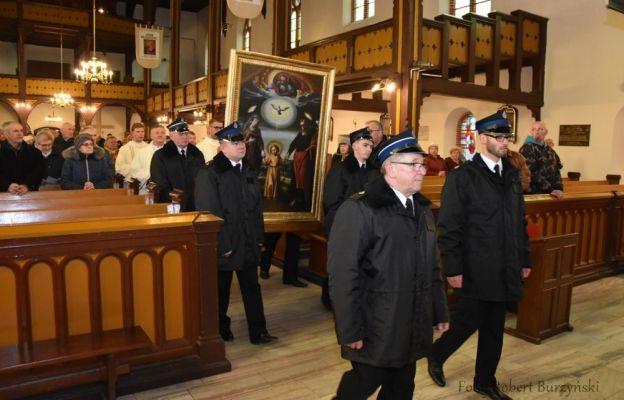 26 i 27 marca obraz nawiedził parafię w Witnicy