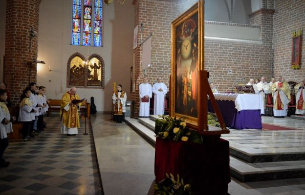Powitanie obrazu w kościele św. Franciszka