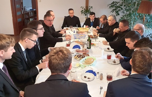 Na spotkaniu z abp. Grzegorzem Rysiem w listopadzie ub. roku