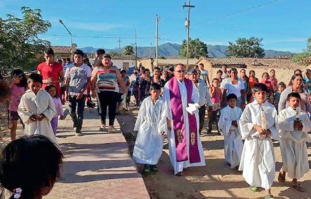 Boliwia życzy wam błogosławionej Paschy