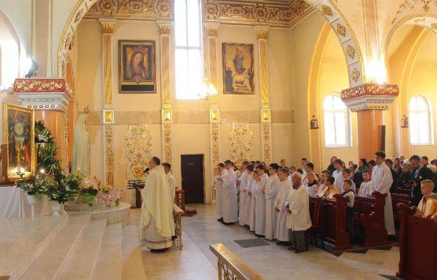 Powitanie obrazu w sanktuarium w Świebodzinie