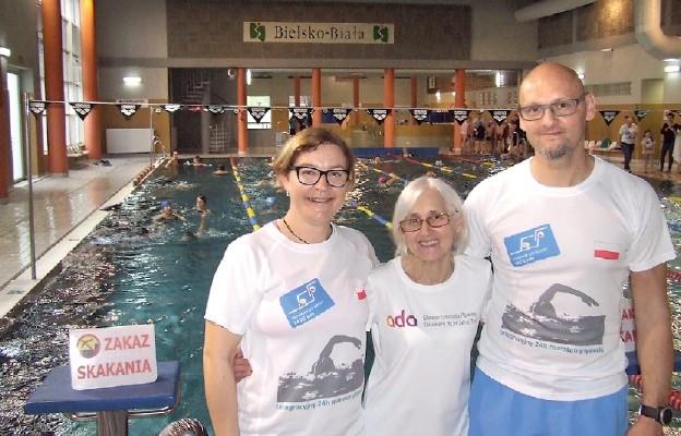 Wiara i sport na basenie