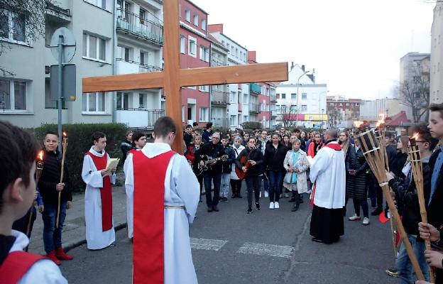 Droga Krzyżowa ulicami Starego Miasta w Stargardzie