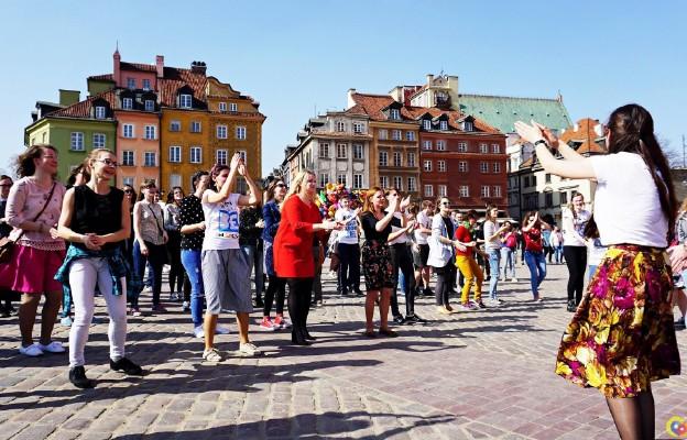 Taniec Wielkanocny na Placu Zamkowym