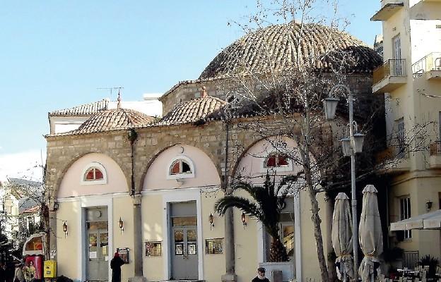Dawny meczet. Obecnie kościół katolicki