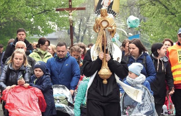 Z Eucharystią do Łagiewnik