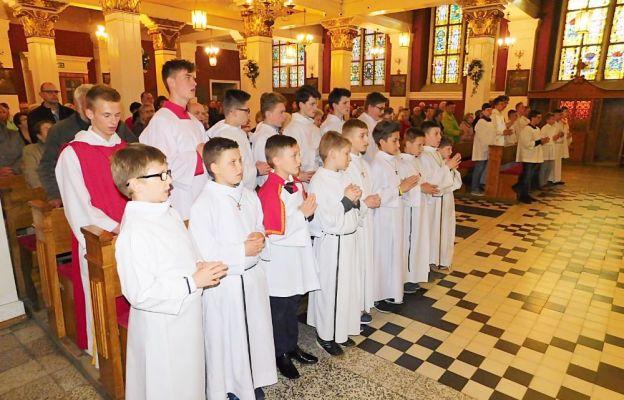 Msza św. na powitanie obrazu św. Józefa Kaliskiego w kościele oo. kapucynów