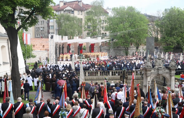 Kraków: uroczystości św. Stanisława, głównego patrona Polski