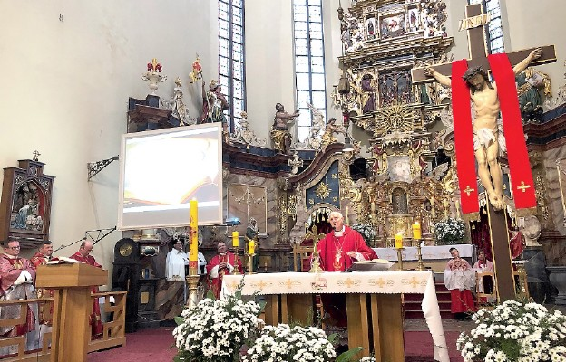 Jubileusz najstarszej dzierżoniowskiej parafii