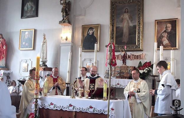 Msza św. w intencji wiernych parafii