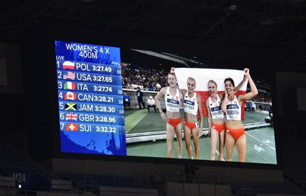 Złoto dla Polski w IAAF World Relays w Jokohamie