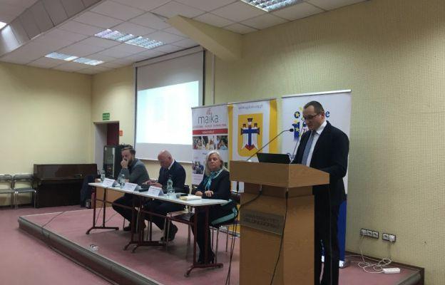 – Chcieliśmy, żeby debata poszerzała wiedzę nt. Unii Europejskiej – mówi Łukasz Brodzik
