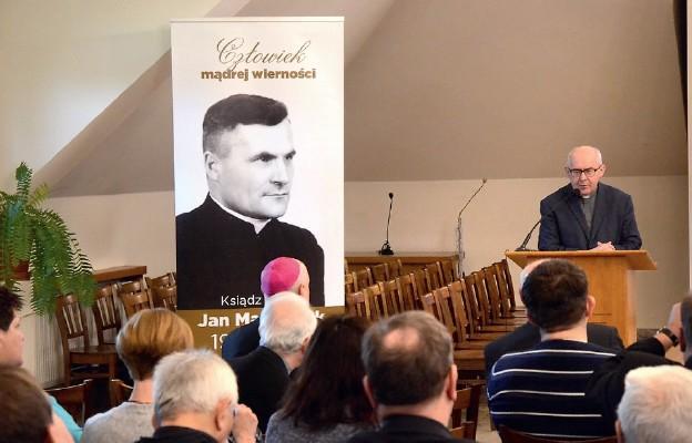 Sesja przybliżająca postać ks. Jana Marszałka