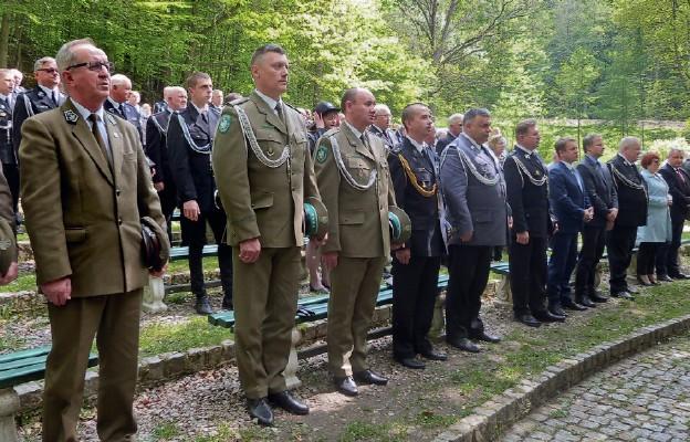Służby mundurowe obecne na uroczystości