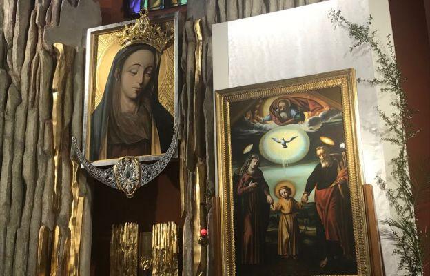20-21 maja obraz nawiedził parafię Matki Bożej Rokitniańskiej w Kostrzynie n. Odrą