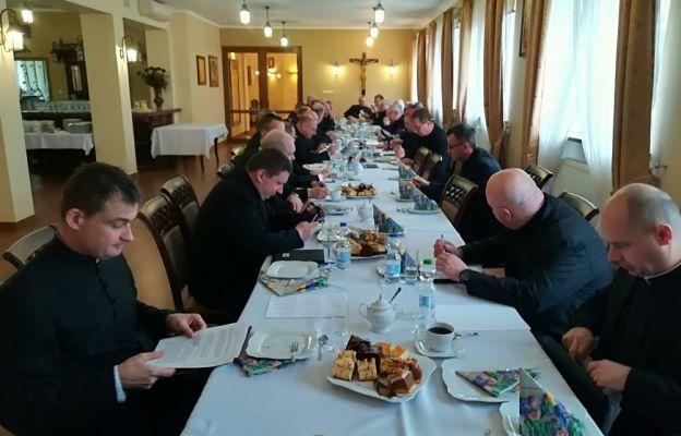 Diecezja: Spotkanie księży dziekanów
