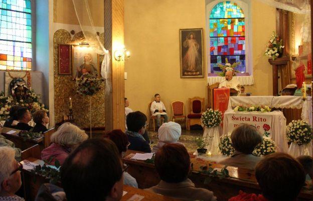 Odpust św. Rity w Chlebowie