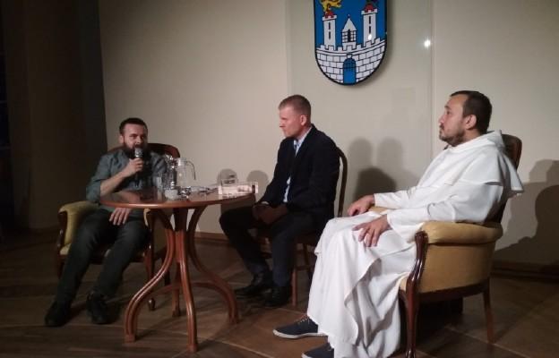 Ks. Rafał Kowalski, Michał Płóciennik, o. Michał Legan