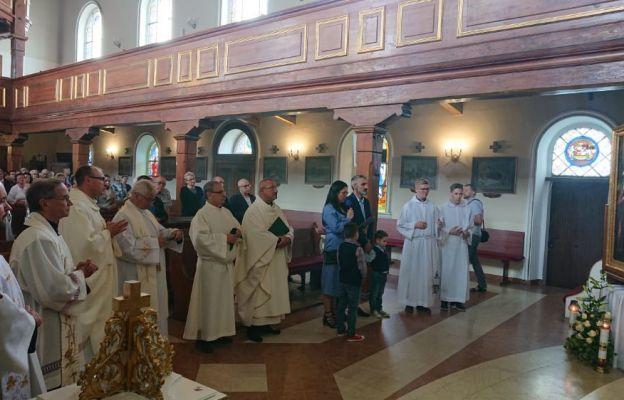 Powitanie obrazu w kościele w Czerwieńsku