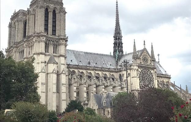 Katedra Notre Dame (Naszej Pani) w Paryżu (przed pożarem)