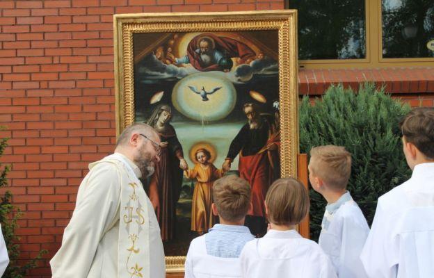 Zielona Góra: Obraz św. Józefa Kaliskiego na Jędrzychowie