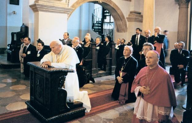 Katedra w Zamościu – 12 czerwca 1999 r.