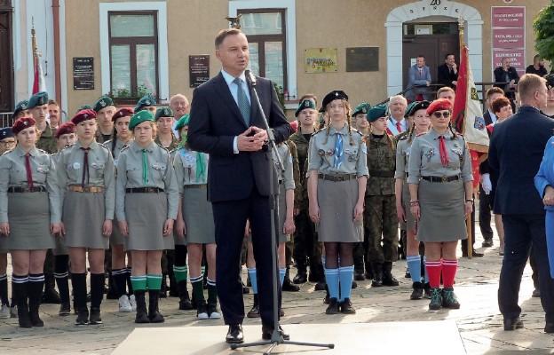 Wizyta Prezydenta RP w Lubaczowie