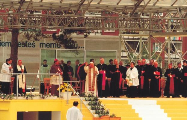 Jan Paweł II w Sosnowcu, 1999 r.